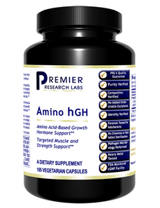 Amino hGH (Premier Growth Hormone, Muscle & Strength Support) 105 Vcaps