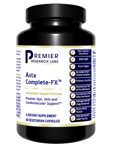 Asta Complete-FX (Antioxident, Eye, Skin & Heart) 60 caps