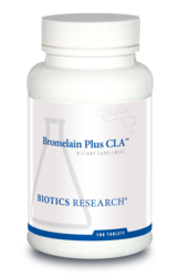 Bromelain Plus CLA (Lactose Free Digestion/Inflammation Support) - 100 tabs