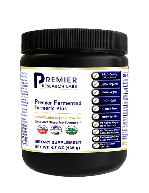 Fermented Turmeric Plus (Liver & Digestive Support) 7.4 oz. Powder