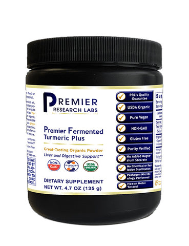 Fermented Turmeric Plus (Premier Liver & Digestive Support) 7.4 oz. Powder