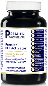 HCL Activator (Premier Digestive Support) 90 Vcaps