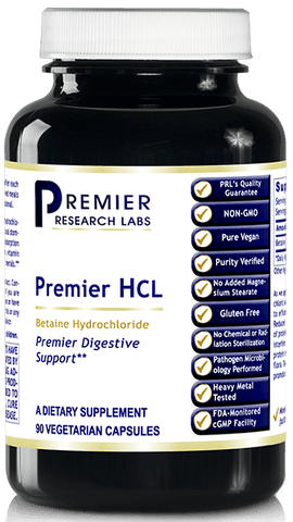 HCL ( Premier HCL Digestive Support) 90 Vcaps