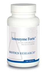 Intenzyme Forte  (Digestive Support) -- 100 or 500 Tabs