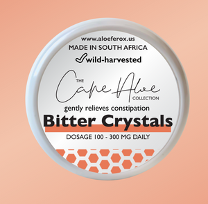 Aloe Bitter Crystals - Cape Aloe Bitter Crystals (Lowest Price Anywhere!)
