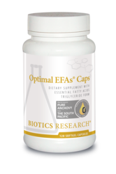 EFAs - Optimal EFAs (Adrenal & HPA Axis, Glucose Metabolism, Heart, Thyroid) 120 Softgels