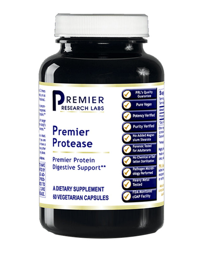 Protease (Premier Protein Digestion Support) 60 Vcaps
