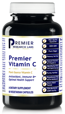 Vitamin C - NEW Improved Formula (Premier Optimal Health Support) 60 Vcaps
