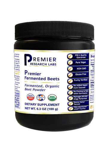 Fermented Beets (Premier Organic Beet Powder) 6.3 oz.