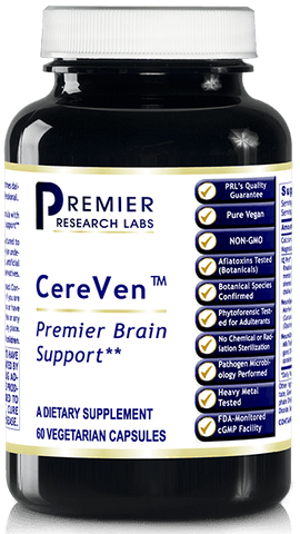 CereVen (Premier Brain and Memory Support) -- 60 Vcaps