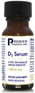 D3 Serum (Premier Immune and Cardiovascular Support) -- .5 fl. oz.