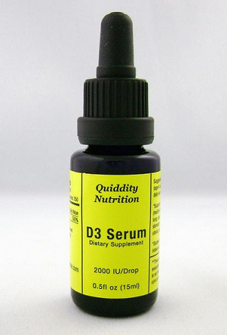 D3 Serum (Support for Bones, Brain, Heart) .05 fl. oz.