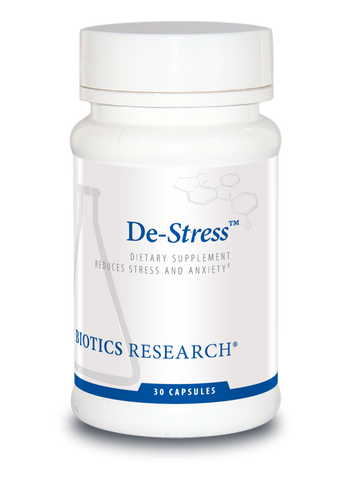 De-Stress (Anxiety and Mood Support) -- 30 Vcaps