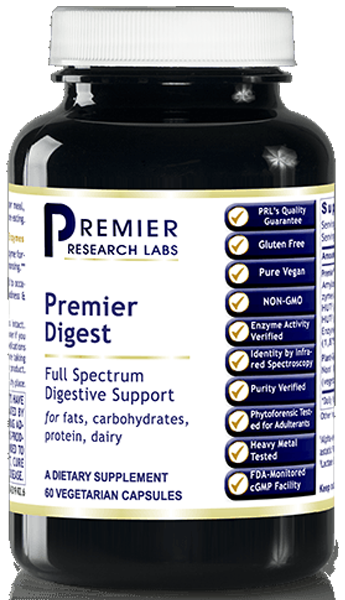 Enzymes - Digest (Premier Digestive Enzyme Support) 60 Vcaps