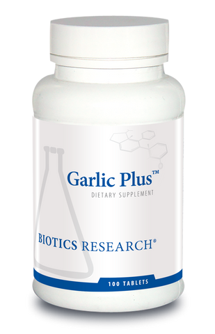 Garlic Plus  (+Vitamin C & Chlorophyllins) -- 100 Tabs