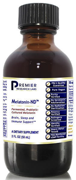Melatonin-ND (Premier Brain, Sleep, Immune Support) -- 2 fl. oz.