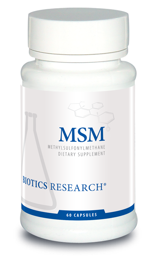 MSM  (Methylsulfonylmethane) 60 Caps or Powder 454 g