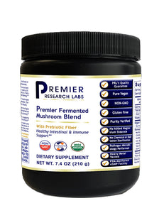 Fermented Mushroom Blend (Premier Intestinal & Immune Support w/Probiotics) 7.4 oz. Powder