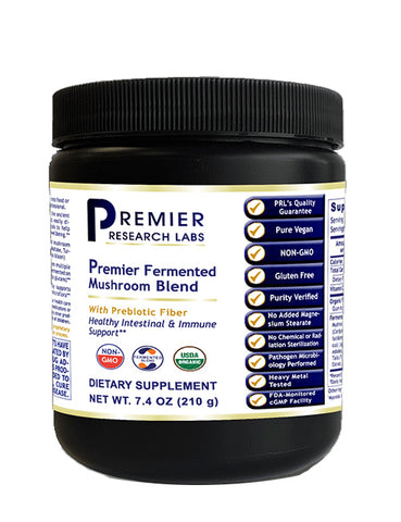 Fermented Mushroom Blend (Intestinal & Immune Support with Probiotic Fiber) 7.4 oz. Powder