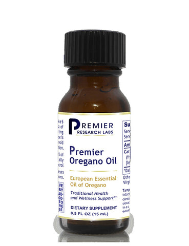Oregano Oil (Premier Essential Oil of Oregano) .5 fl. oz