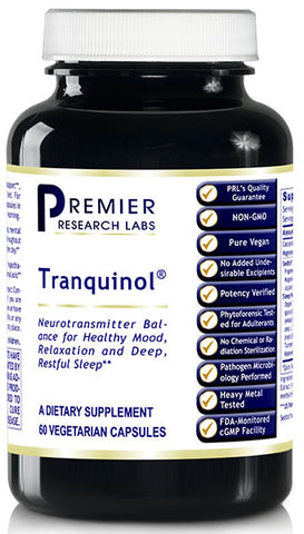 Tranquinol (Premier Relaxation and Restful Sleep) 60 Vcaps
