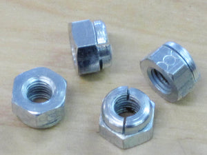 "14-1201 clevlock nut set of 4 Triumph BSA 1/4""-28"