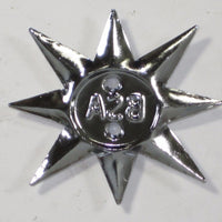 1 each 40-0231 BSA engine sidecover star emblem single *