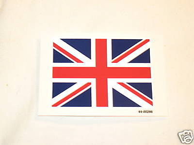 UNION JACK British decal UK flag England 3-1/4x2-3/8