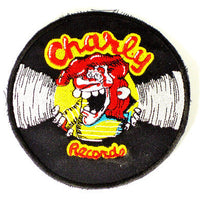Charly Records Patch vintage embroidered jacket British rockabilly