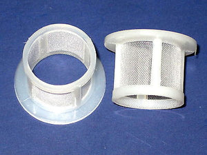 2 Banjo screen fuel Filters for Amal carb Triumph Norton BSA concentric 376/093