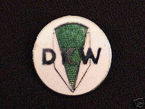 DKW hat pin enamel badge lapel tie tac Hercules Germany UK Made vintage