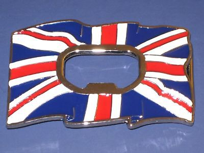 Union jack beer  bottle opener belt buckle British flag UK