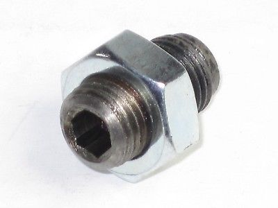 Clutch adjuster pin and nut Triumph 500 650 750 57-2159 14-0403 allen