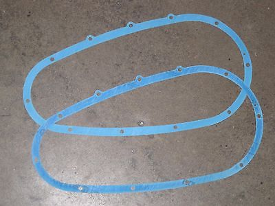 2 each Primary Cover Gasket Pre-unit Triumph 650 500 swingarm dynamo swingingarm