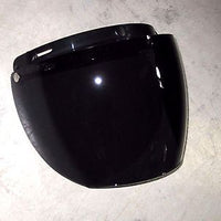Face shield 3 snap flip up tinted visor snap on smoke tint 3/4 motorcycle helmet