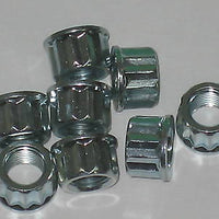 Triumph BSA Cylinder Base Nuts 12 Point 21-0692 A50 A65 24 TPI 1969-72 TR6 T120