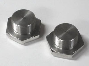 Triumph fork nuts Stainless Steel 97-2245/S 1969 1970 650 and 69 to 74 500