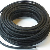 "1 foot 1' of 1/4"" wire LOOM / cotton asphaltic restoration duct auto motorcycle"