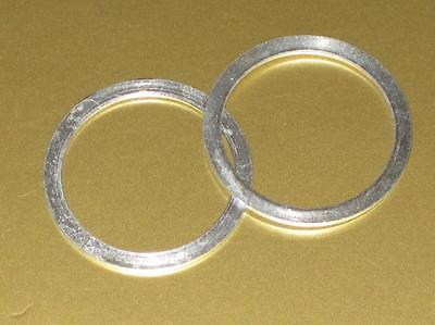 Washer fork oil seal retainer set Triumph retaining washers 650 500 97-0431