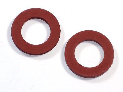 2 each fiber washer petcock fuel valve Triumph BSA 24-8504