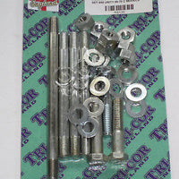 Engine case bolt set Triumph 650 1969 70 71 72 T120 TR6 bolts