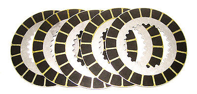 Norton 850 5 alloy clutch friction drive plates Barnett plate thin set 06-3741