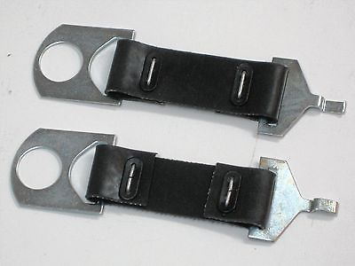 Norton Commando battery straps 06-1662 rubber strap set 750 850 1971 72 73 74