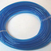 "3' foot piece of 1/4"" ID 100% blue polyurethane fuel line hose tube motorcycle *"