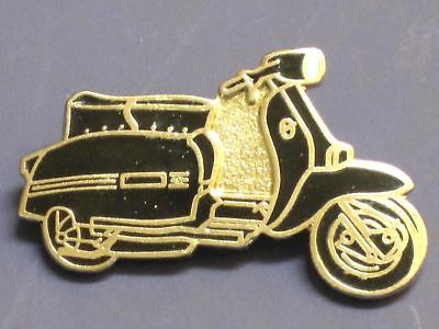 Scooter lapel pin Lambretta badge Black Mod Ska Vespa
