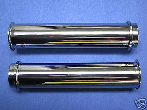 Triumph pushrod tubes chrome 650 unit tiwns 1966 67 68 push rod tube 70-6000
