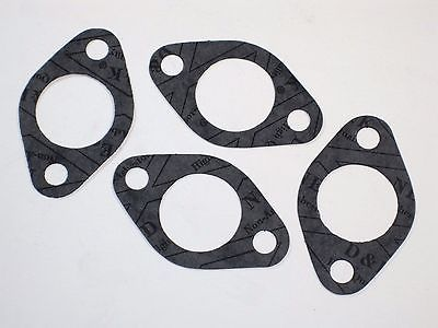 4 each Amal gaskets 30mm intake manifold gasket carb to flange washer 70-4919