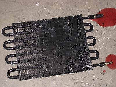 "Automatic trans cooler transmission fluid radiator installed once 16"" x 10"""