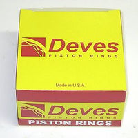 Deves Piston Rings rings +.020 Norton 750 20 over Commando Gapless oil ring set