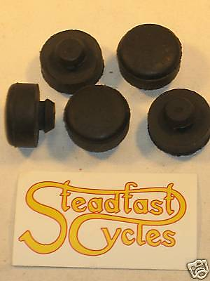 Triumph OIF seat mounting rubbers buffer set 650 750 82-9093 buffers T120 T140
